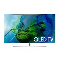 "Samsung TV 65"" QLED Curved UHD 4K Smart Wireless: QA65Q8CAM"