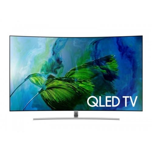 "Samsung TV 65"" QLED Curved UHD 4K Smart Wireless: QA65Q8CAM"