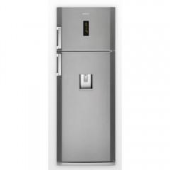 BEKO Refrigerator 535 Liter NoFrost Digital with Water Dispenser Silver Color: RDNE535E12DPT