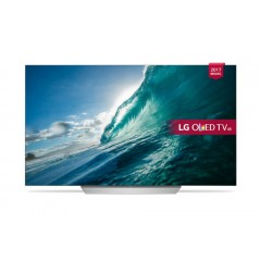 "LG 55"" OLED SUHD TV SMART Wirless With Built-in Receiver 4K: OLED55C7V"