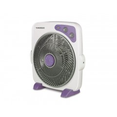 Tornado Box Fan 14 Inch With 4plastic Blades and 4 Selectable Speeds B-BXT-35