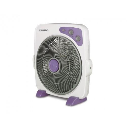 Small Box Fan : Tornado box fan inch with plastic blades and