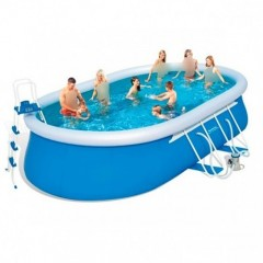 Bestway Swimming Pool 15,033 Lt Family Rectangular Frame: 56461