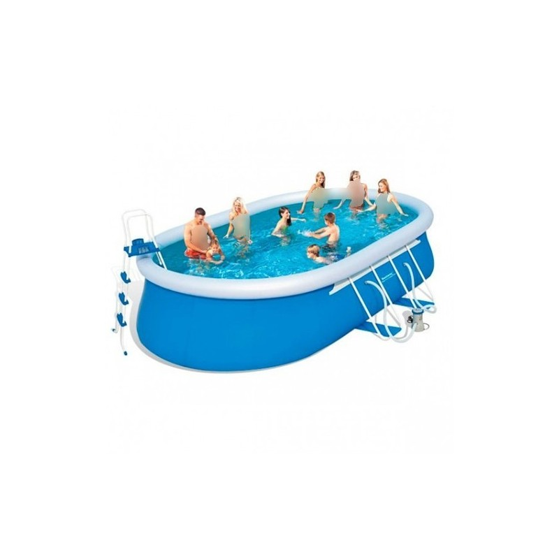 Bestway swimming pool 15033 lt family rectangular frame for Bestway swimming pools