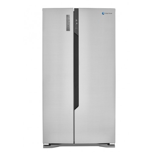 White Whale Refrigerator 25 Feet 510 Liter Side By Side Stainless Steel: