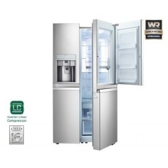 LG Refrigerator side by side 29 feet: GR-J297WSBU
