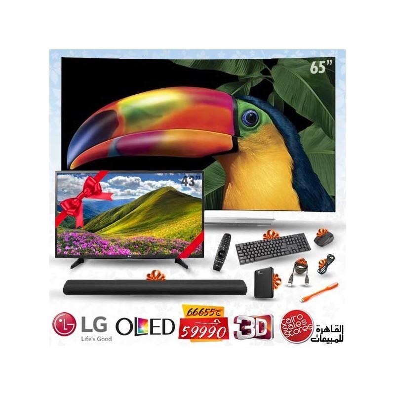 lg tv 65 oled ultra hd tv 4k curved 3d smart wireless. Black Bedroom Furniture Sets. Home Design Ideas