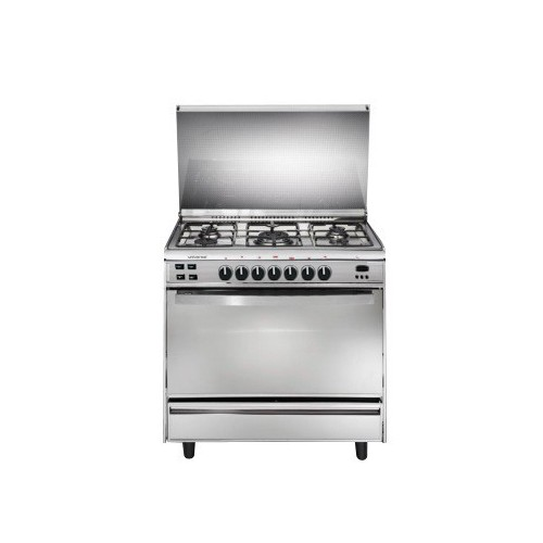 Universal Gas Cooker 5 Burners Stainless With Fan and Digital Timer: IF9605