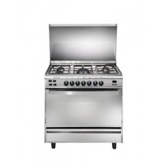 Universal Gas cooker 5 Gas Burners Digital Timer Stainless With Fan: IF8505