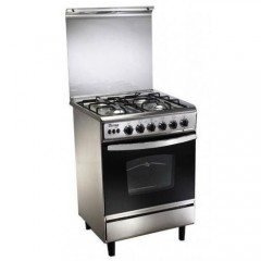 Union Tech 4 burner 60*60 cm Stainless Timer: C6060SS-AC-511-ID