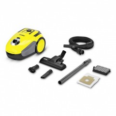 Karcher Bagless Vaccum Cleaner 700 Watt With Dust Bag.: VC2