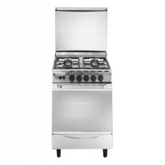 Universal Gas Cooker 4 Burners 55*55 cm Stainless Color: NC-ST4504