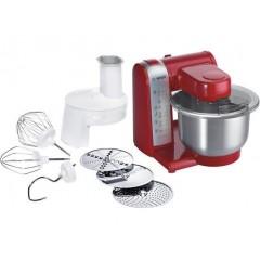 Bosch Kitchen Machine 600 Watt 3.9 Liter Red Color: MUM48R1