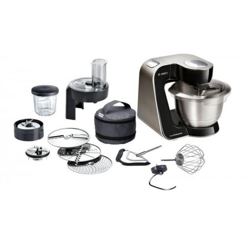 Bosch Kitchen Machine Home Professional 900 Watt Stainless Steel: MUM57B22