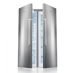 BOSCH Twin Refrigerator 346 Liter + Freezer 237 Liter Stainless Steel: KSV36VI30U+GSN36V130U