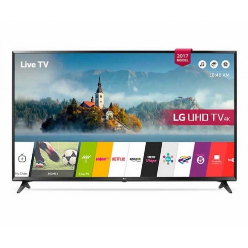 "LG 60"" LED TV Ultra HD 4K Smart WebOS 3.5 With Built-In 4K Receiver: 60UJ630V"
