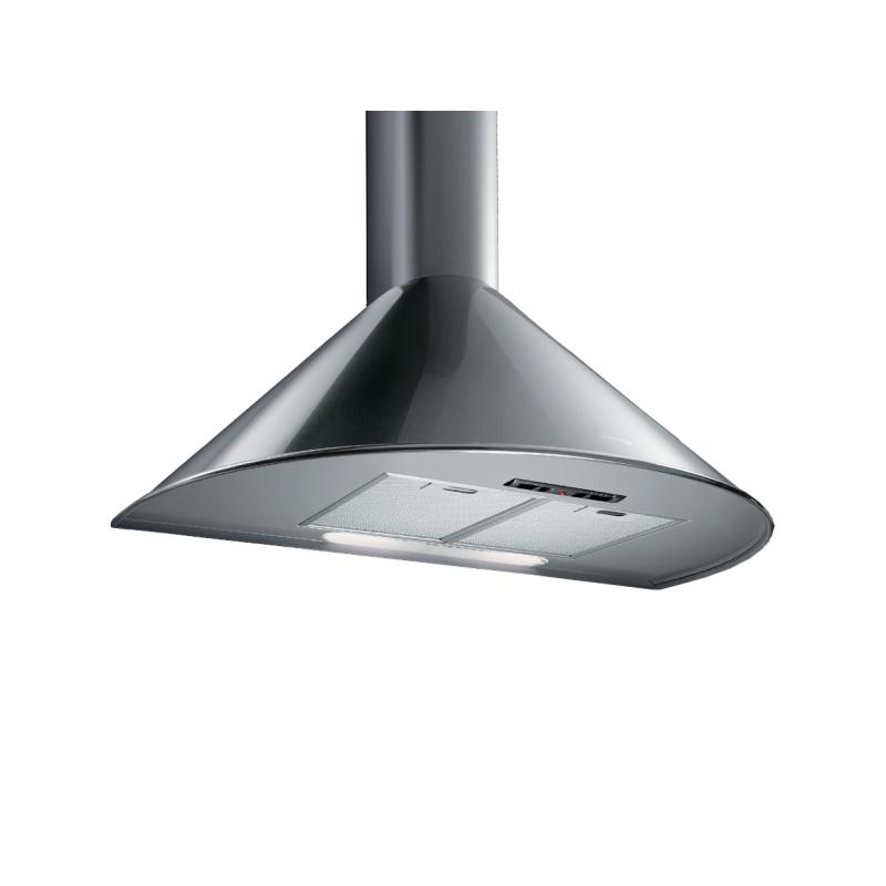 Kitchen Hood Testing Requirements: Turbo Air Hood 90 Cm 600 M3/h Rounded Stainless: AGRIGENTO