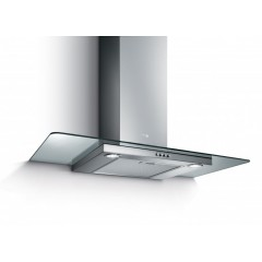 Turbo Air Hood 90cm With Glass Canopy 850 m3/h Stainless: SEMPIONE 90