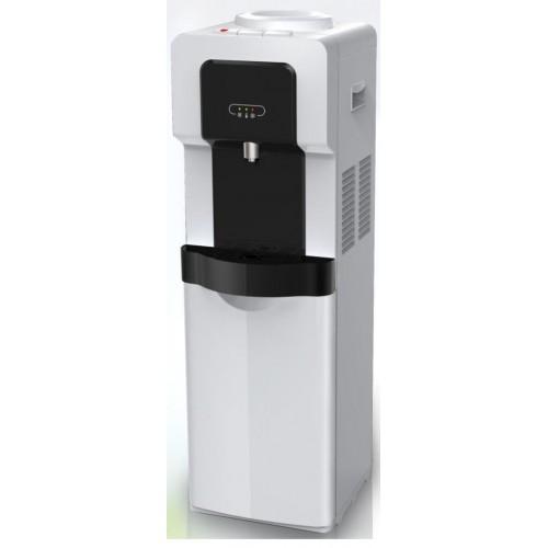 Tornado Water Dispenser 1 SPIGOT White And Black Color: WDM-H40ABE-WB