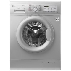 LG Washing Machine 8 Kg Direct Drive 6 Motions Silver Color: FH4G7TDY5