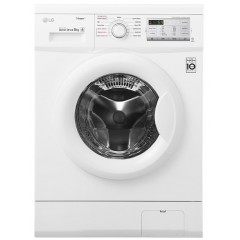 LG Washing Machine 7 Kg 1400 rpm Direct Drive 6 Motions White: FH2G7QDY0