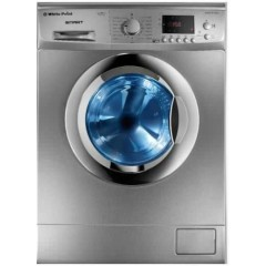 White Point Washing Machine 8 Kg 1000 rpm Digital Silver: WPW8101DC