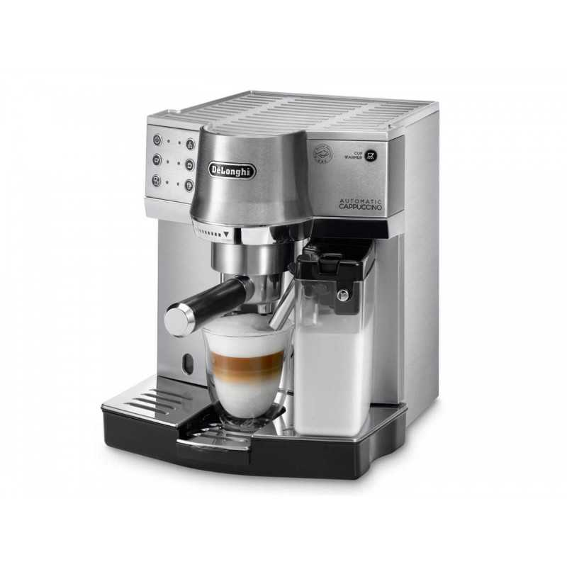 Coffee Maker For Coffee And Espresso : Delonghi Espresso Coffee and Cappuccino Maker 1450 Watt: EC860M Cairo Sales Stores