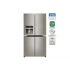 LG Refrigerator 31 Feet Side By Side 4 Doors Stainless Steel: GR-M31FWCHL
