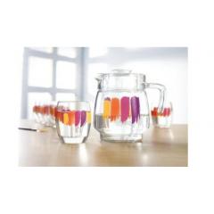 Salto Bent Brush Drinking Set 7 Pieces: J2921