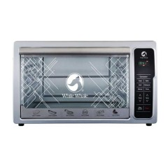 White Whale Digital Electric Oven 48 liter White Color: WO-48RCSS