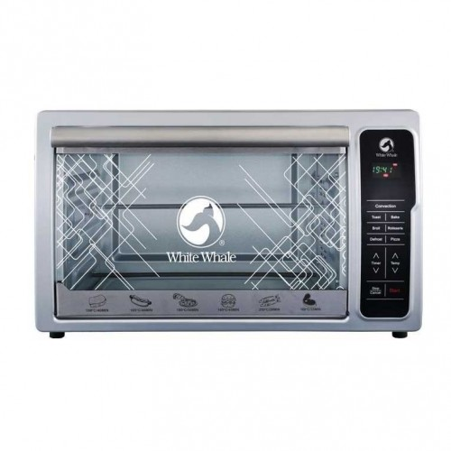 White Whale Digital Electric Oven 36 liter Stainless Steel: WO-36RCSS