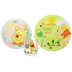 Luminarc Disney Winnie Garden 3 pieces set: J1703