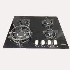 Universal Hob 4 Burner Full Safety 60 cm Glass: BHV00150604GSTCS