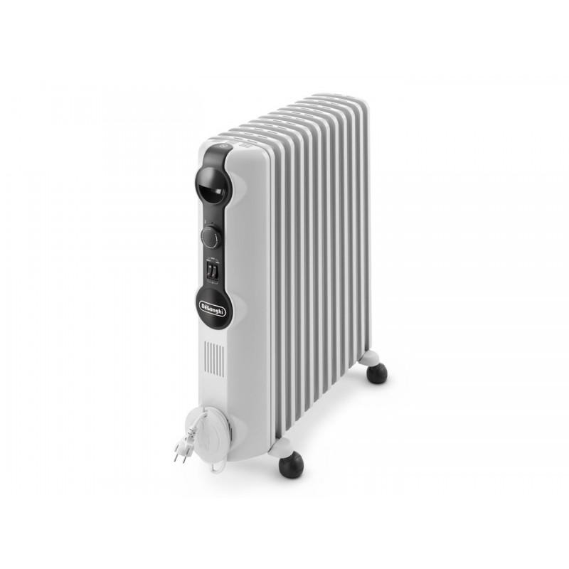 2500 Watt Radiator.Delonghi Oil Radiator Heater 12 Fins 2500 Watt White Color