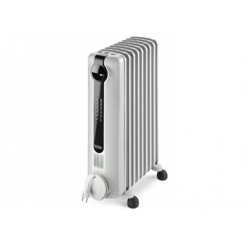 DelonghI Oil Radiator/Heater 9 Fins Digital 2000 Watt White Color: TRRS0920E