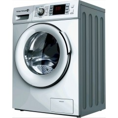 White Whale Washing Machine 8 KG 1400 RPM Silver: WD-14810LS