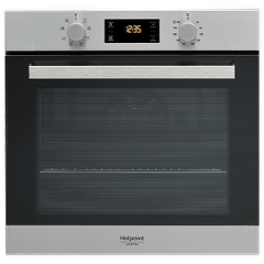 Ariston Built-in Electric Oven 60 cm 66 Liter Digital Stainless Steel: FA3 540 H IX A