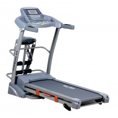 Sprint Electric Treadmill For 130 Kg With AC Motor Digital Display+Vibration Unit+Twister board+Set up Bench: GW8040A/4 Cairo S