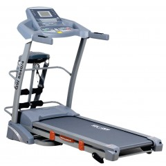 Sprint Electric Treadmill For 130 Kg With Digital Display + Vibration Unit + Twister board + Set up Bench: GW8070/4