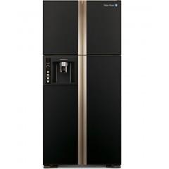 White Whale Refrigerators 27 Feet 4 Doors Glass Black With Ice Maker: WRF-G7099HTX GBK