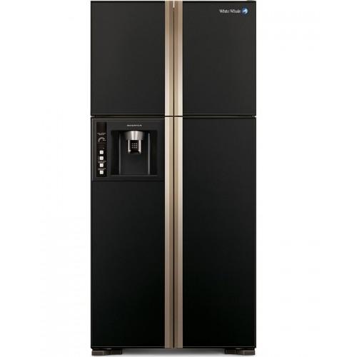 White Whale Refrigerators 540 Liter 4 Doors Glass Black: WRF-G7099HTX GBK