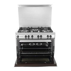 KIRIAZI Gas oven 90*60 5 burner Stainless: 9600-SM
