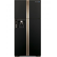 White Whale Refrigerators 540 Liter 4 Doors Glass Black: WRF-G7099HTX GBK