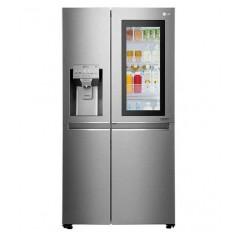 LG Refrigerator 24 Feet 665 Liter Water Dispenser Ice Maker Stainless Steel: GC-X247CSBV