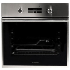 Tecnogas Built-In Gas Oven 60 cm With Fan 60 Litres Stainless Steel: FN2K66G3X
