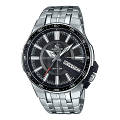 Casio Edifice Analog Black Dial Men's Watch: EFR-106D-1AVUDF