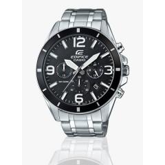 Casio EFR-553D-1BVUDF Stainless Steel Watch - For Men - Silver: EFR-553D-1BVUDF