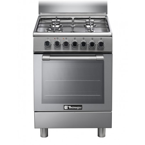 Tecnogas 60*60 cm 4 Burners Full Safety Stainless: N3X66G4VE