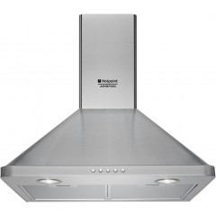 Ariston Built In Chimney Hood 60 cm 420m³/h Stainless: AHPN 6.4F AM X
