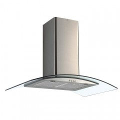 Tecnogas Kitchen Chimney Hood 850 m3/h Glass Stainless: MIRAGE 90